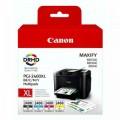 Комплект картриджей CANON PGI-2400XL BK / C / M / Y оригинальный