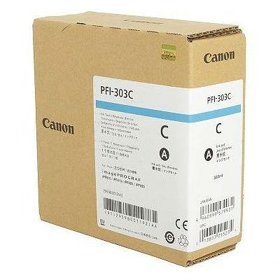 Картридж CANON PFI-303C оригинальный