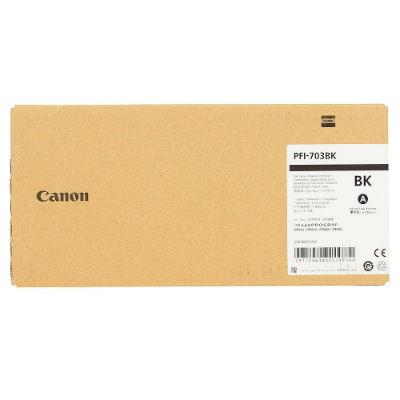 Картридж CANON PFI-703BK оригинальный