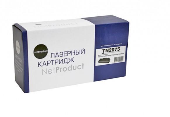 Тонер-картридж Brother TN-2075 NetProduct совместимый