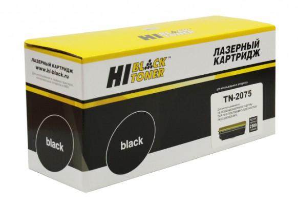 Тонер-картридж Hi-Black Brother TN-2075, совместимый