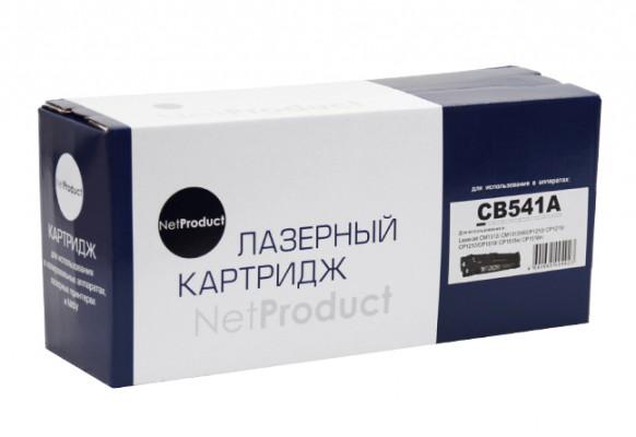 Картридж HP 125C CB541A NetProduct совместимый