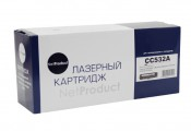 Картридж HP 304Y CC532A NetProduct совместимый