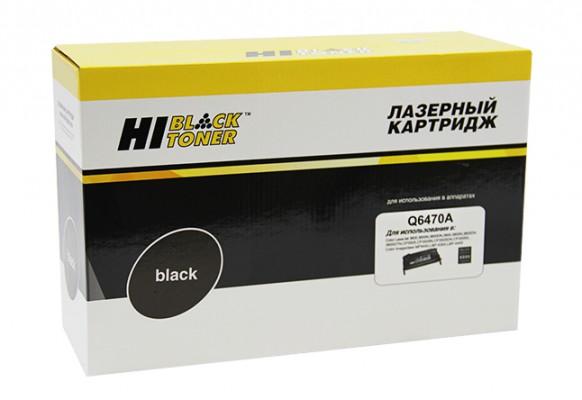 Картридж HP 501A Q6470A Hi-Black совместимый