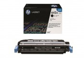 Картридж HP 642Bk CB400A оригинальный
