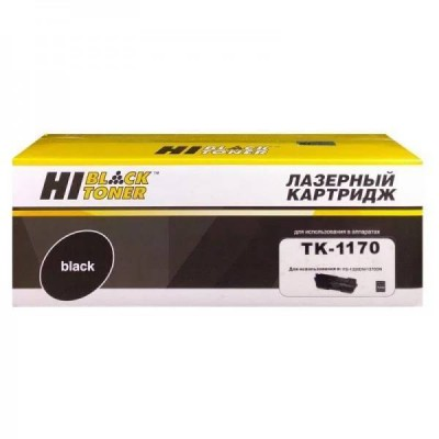 Тонер-картридж Kyocera TK-1170 Hi-Black совместимый с чипом
