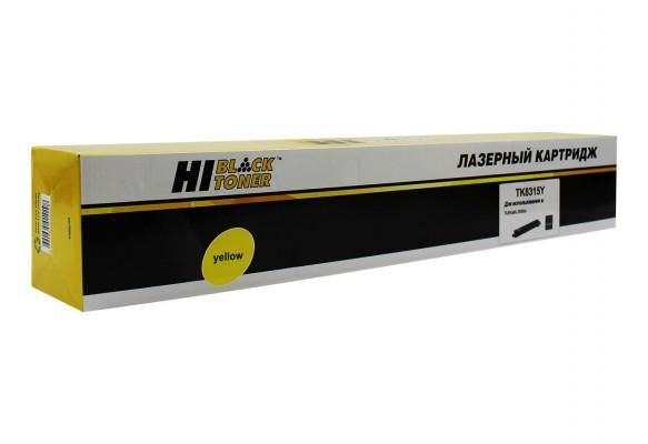 Тонер-картридж Kyocera TK-8315Y Hi-Black совместимый