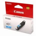 Картридж Canon CLI-451C 6524B001 оригинальный