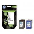 Комплект картриджей HP 21+22 SD367AE оригинальный