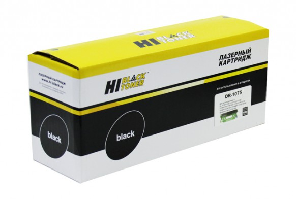 Драм-юнит Hi-Black (HB-DR-1075) для Brother HL-1010R / 1112R / DCP-1510R / 1512R / MFC-1810R, 9K. Совместимый