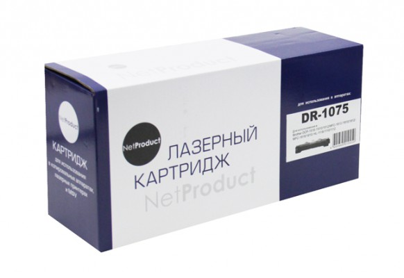 Драм-юнит NetProduct (N-DR-1075) для Brother HL-1010R / 1112R / DCP-1510R / 1512R / MFC-1810R, 10K. Совместимый