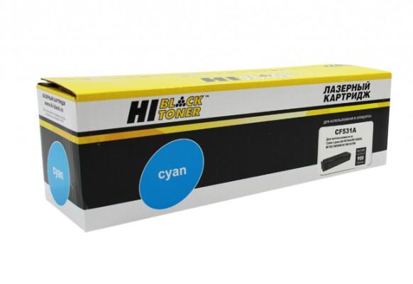 Картридж Hi-Black (HB-CF531A) для HP CLJ Pro M154A / M180n / M181fw, C, 0,9K