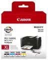 Набор картриджей CANON PGI-1400XL многоцветный, 4 картриджа