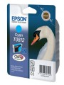 Картридж Epson T0812 C13T11124A10 Голубой оригинальный