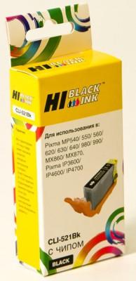 Картридж Hi-Black Canon CLI-521Bk, совместимый