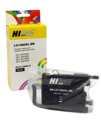 Картридж Hi-Black Brother LC-1280XLBK, совместимый
